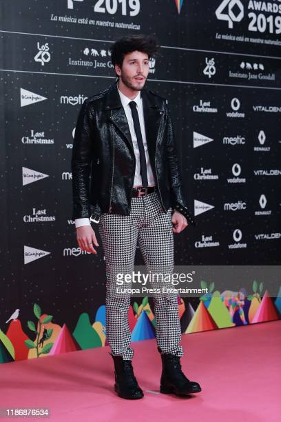 Sebastian Yatra attends 'Los40 music awards 2019' photocall at Wizink Center on November 08 2019 in Madrid Spain