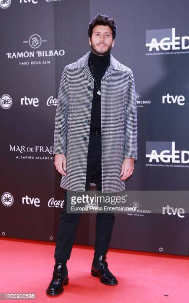 Sebastian Yatra attends Odeon Awards 2020 at Royal Theater on January 20, 2020 in Madrid, Spain.
