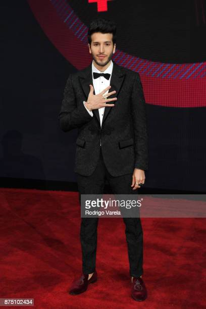 Sebastian Yatra attends The 18th Annual Latin Grammy Awards at MGM Grand Garden Arena on November 16 2017 in Las Vegas Nevada