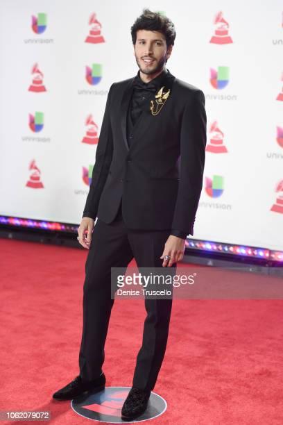 Sebastian Yatra attends the 19th annual Latin GRAMMY Awards at MGM Grand Garden Arena on November 15 2018 in Las Vegas Nevada