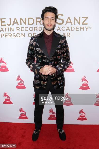 Sebastian Yatra attends the 2017 Person of the Year Gala honoring Alejandro Sanz at the Mandalay Bay Convention Center on November 15, 2017 in Las...