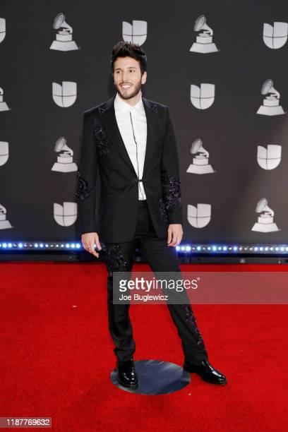 Sebastian Yatra attends the 20th annual Latin GRAMMY Awards at MGM Garden Arena on November 14, 2019 in Las Vegas, Nevada.