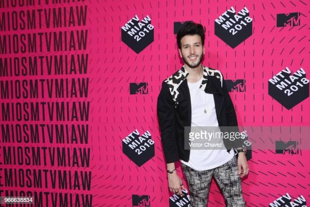 Sebastian Yatra attends the MTV MIAW Awards 2018 at Arena Ciudad de Mexico on June 2 2018 in Mexico City Mexico