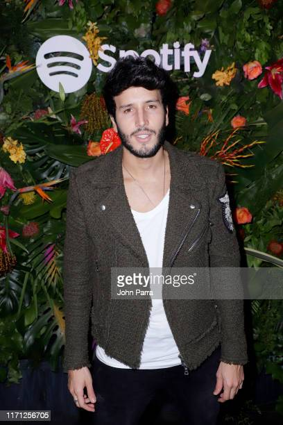 Sebastian Yatra attends the Spotify ¡Viva Latino! Live Pre-Show at American Airlines Arena on August 30, 2019 in Miami, Florida.