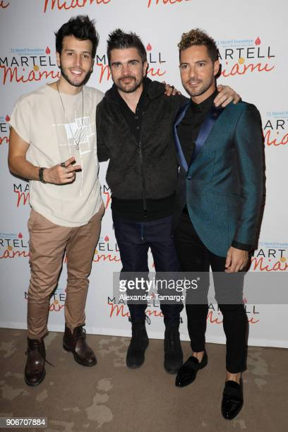 ¿Cuánto mide Sebastián Yatra? - Altura - Real height Sebastian-yatra-juanes-and-david-bisbal-are-seen-at-the-tj-martell-picture-id906707884?s=612x612