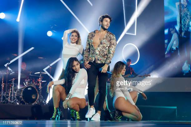 Sebastian Yatra performs live on stage during the Spotify ¡Viva Latino Live on August 30 2019 in Miami Florida