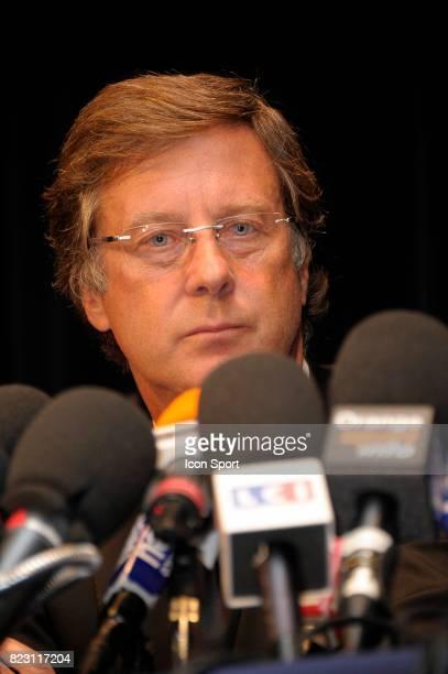 Sebastien Bazin Conference de presse pour la reprise du Paris Saint Germain par Quatar Investment Authority