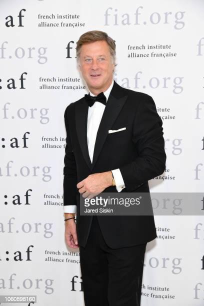 Sebastien Bazin attends FIAF Trophee des Arts Gala at The Plaza Hotel on November 12 2018 in New York City