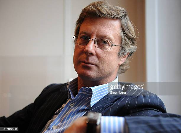 Sebastien Bazin chief executive officer of Colony Capital SAS Europe poses in his office in Paris France on Thursday Nov 5 2009 Colony Capital SAS is...