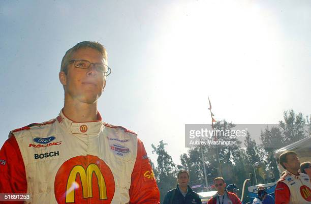 Sebastien Bourdias of France during practice and qualifying for the CART series GP at the Autodromo Hermanos Rodriguez November 6 2004 in Mexico City...