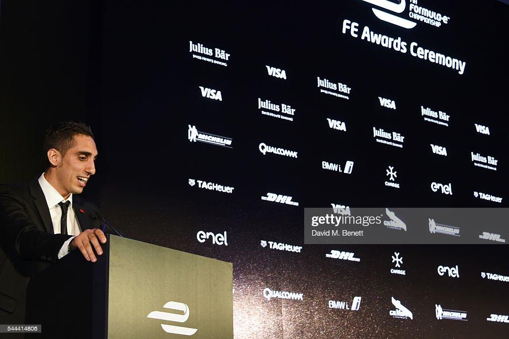 2016 FIA Formula E Visa London ePrix - Gala Dinner : News Photo