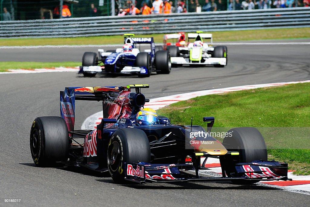 F1 Grand Prix of Belgium - Race : News Photo