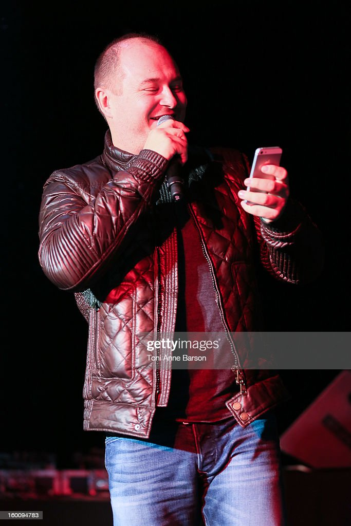 Sebastien Cauet attends 'Before NRJ Music Awards 2013 Concert' at Palais des Festivals on January 25, 2013 in Cannes, France.