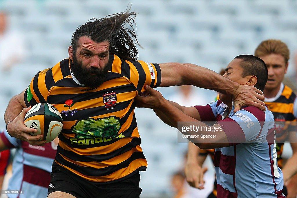 Balmain v Petersham - Sydney Grade Rugby