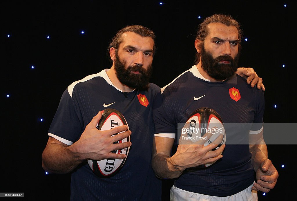 Sebastien Chabal Waxwork Unveiling At Musee Grevin