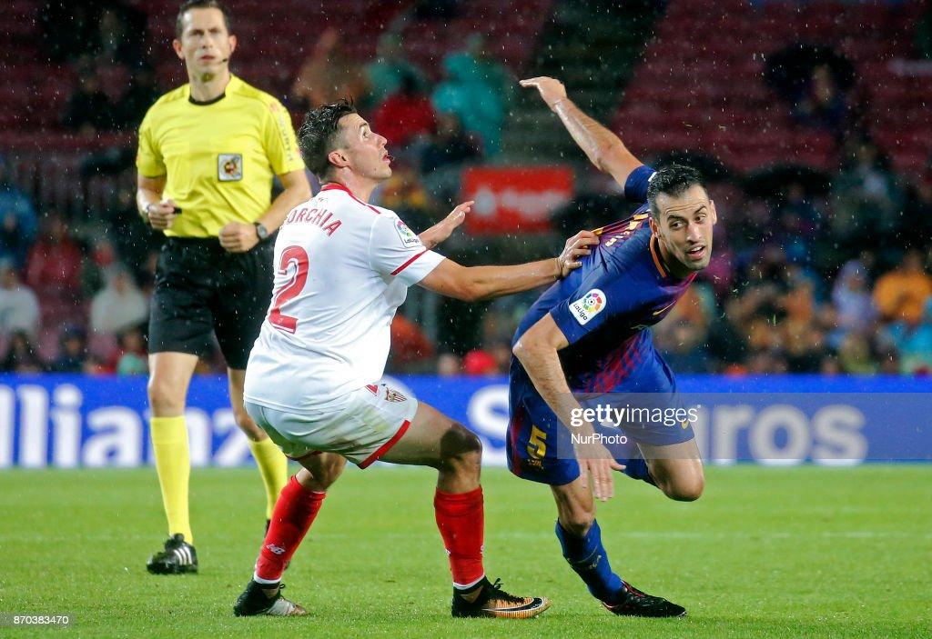 Barcelona v Sevilla - La Liga : ニュース写真