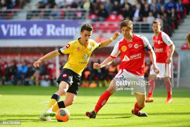 Sebastien CORCHIA / Anthony WEBER Reims / Sochaux 34eme journee de Ligue 1 Photo Dave Winter / Icon Sport
