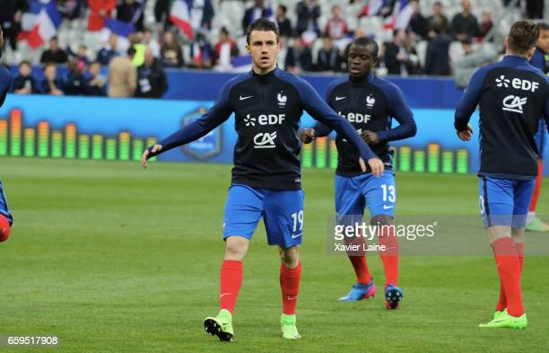 Sebastien Corchia of France during the Friendly game between France and Spain at Stade de France on march 28 2017 in Paris France