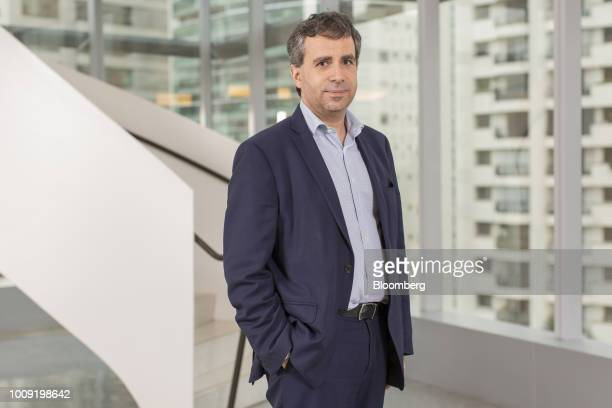 Sebastien Durchon chief financial officer of Carrefour Brasil stands for a photograph following an interview in Sao Paulo Brazil on Wednesday Aug 1...