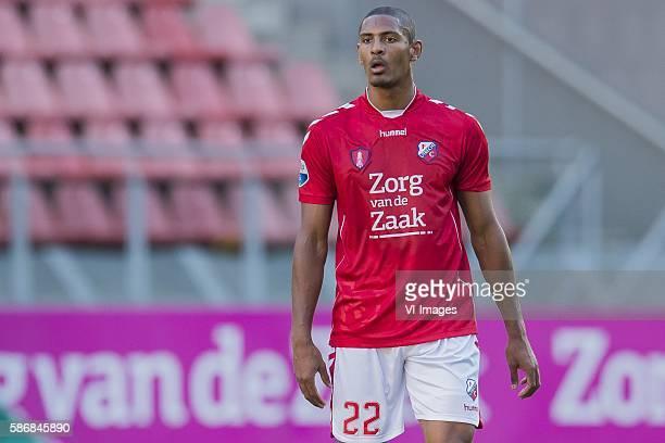 Sebastien Haller of FC Utrecht during the Dutch Eredivisie match between FC Utrecht and PSV at the Galgenwaard stadium on august 6 2016 in Utrecht...