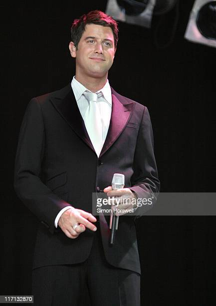 Sebastien Izambard of Il Divo during Petworth House Summer Series IL Divo Concert - July 16, 2006 at Petworth House, Petworth, West Sussex, UK in...
