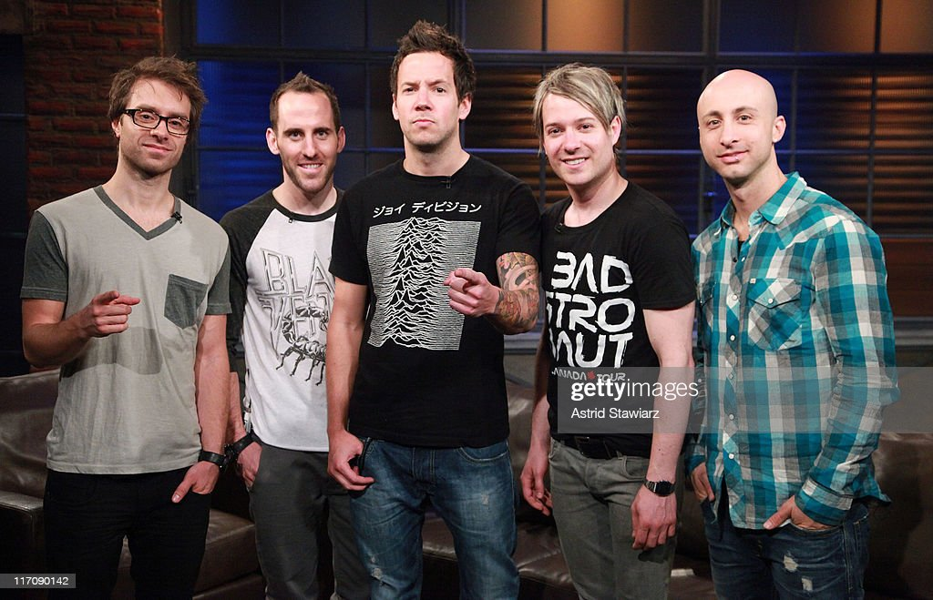 Reeve Carney, Simple Plan & AWOL Nation Visit fuse Studio