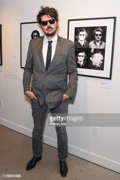 Sebastien Leon attends Oliver Peoples x Tasya van Ree Celebrates Who is Oliver Exhibition at LECLAIREUR on February 13 2019 in Los Angeles California