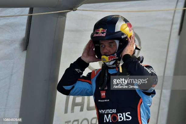 Sebastien Loeb during the Test of Sebastien Loeb Hyundai i20 Coupe WRC on January 20 2019 in Gap France