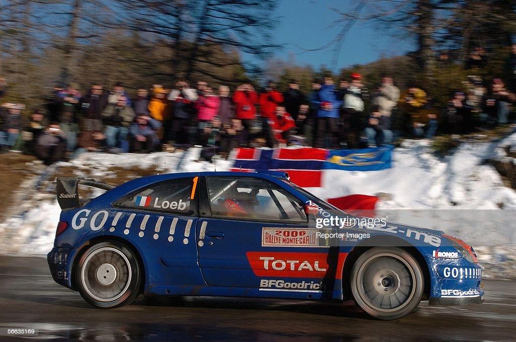 Monte Carlo Rally - Leg One : News Photo