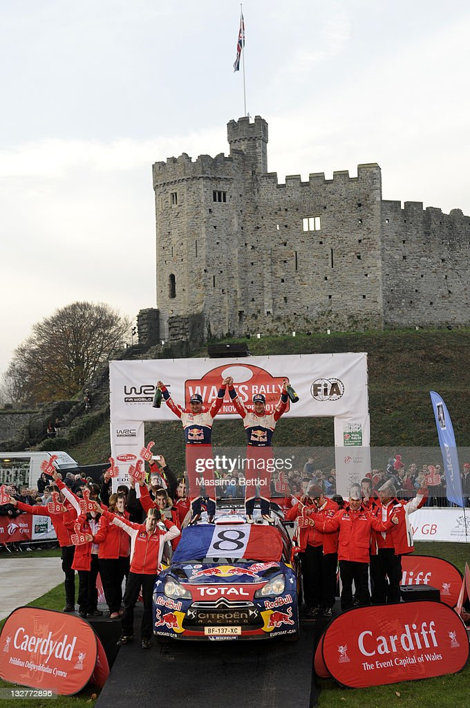 FIA World Rally Championship Great Britain - Day Four : News Photo