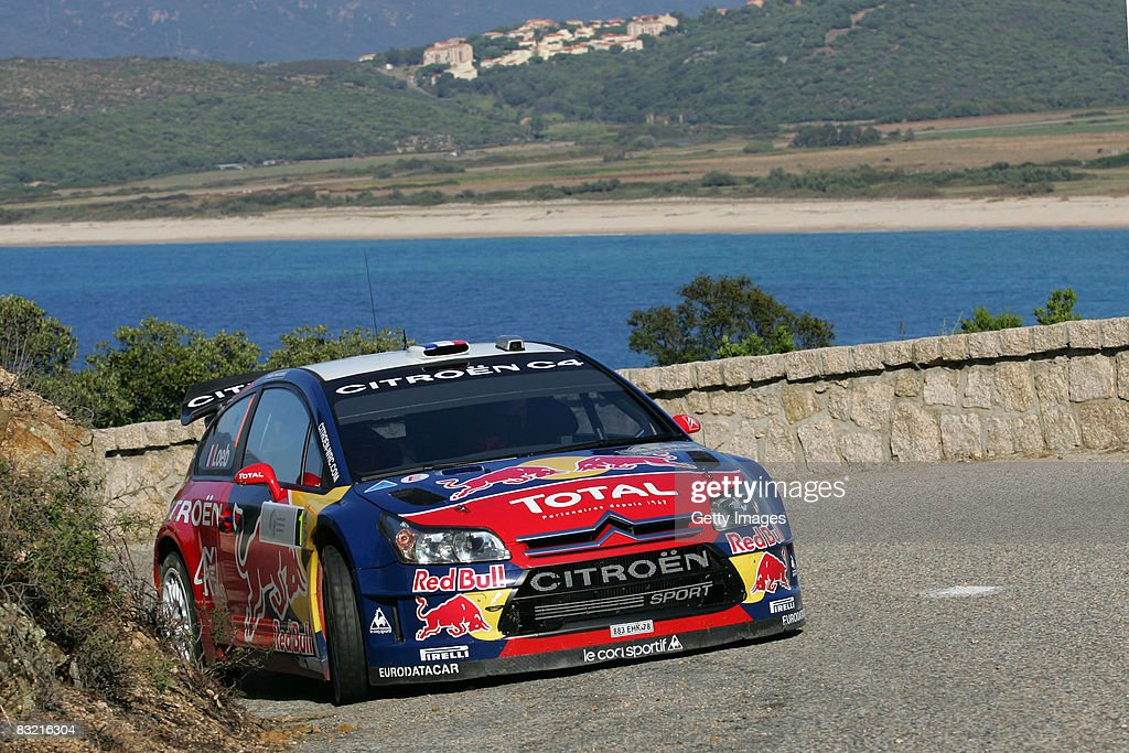 WRC Rally of France 2008 : News Photo