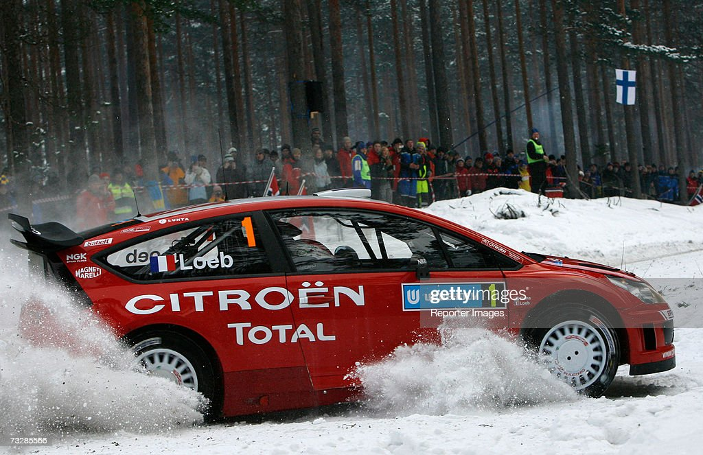 WRC: Round Two - Rally of Sweden : News Photo