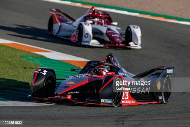 Sebastien , Nissan e.dams, Nissan IM02, action during the ABB Formula E Championship official pre-season test at Circuit Ricardo Tormo in Valencia on...