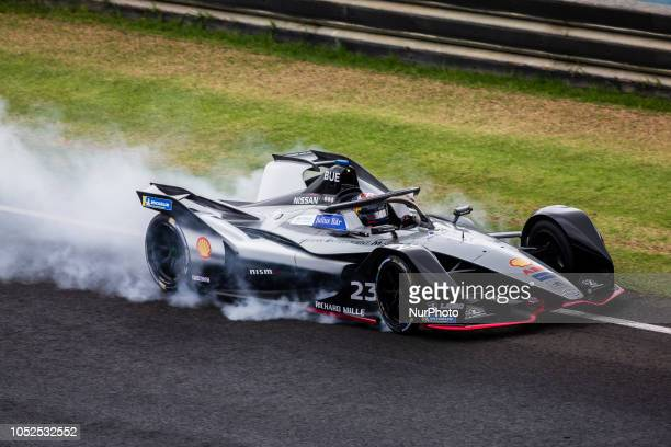 Sebastien Nissan edams Team during the Formula E official preseason test at Circuit Ricardo Tormo in Valencia on October 16 18 and 19 2018