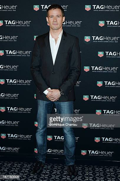 Sebastien Ogier attends the Opening of the TAG Heuer New Boutique Followed By An Evening Celebrating 50 years of Carerra In Pavillon Vendome on...
