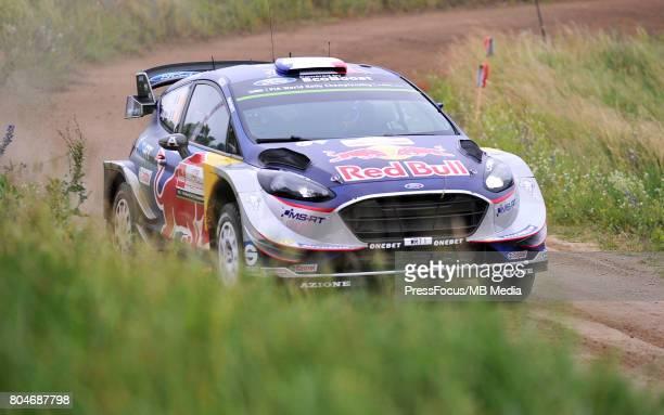 Sebastien Ogier FRA Julien Ingrassia FRA M Sport World Rally Team during the WRC Orlen 74 Rally Poland on June 29 2017 in Mikolajki Poland
