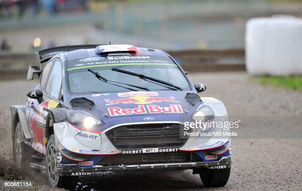 Sebastien Ogier FRA Julien Ingrassia FRA M Sport World Rally Team during the WRC Orlen 74 Rally Poland on June 30 2017 in Mikolajki Poland