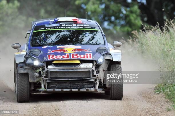 Sebastien Ogier FRA Julien Ingrassia FRA M Sport World Rally Team during the WRC Orlen 74 Rally Poland on July 01 2017 in Mikolajki Poland