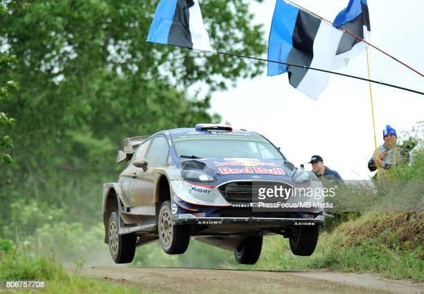 Sebastien Ogier FRA Julien Ingrassia FRA M Sport World Rally Team during the WRC Orlen 74 Rally Poland on July 02 2017 in Mikolajki Poland