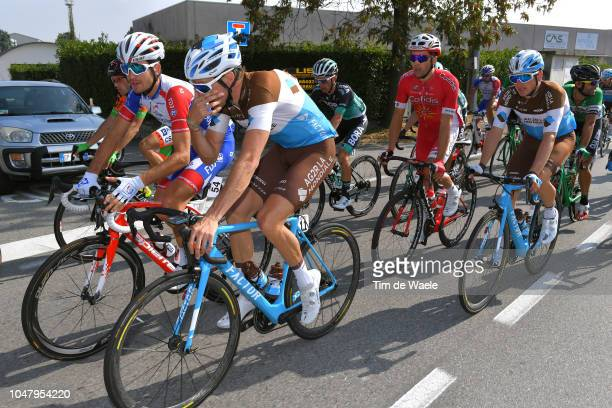 Sebastien Reichenbach of Switzerland and Team Groupama FDJ / Alexandre Geniez of France and Team AG2R La Mondiale / during the 98th Tre Valli...