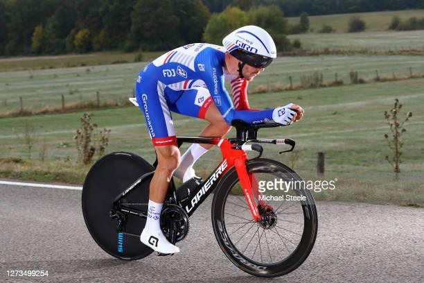 Sebastien Reichenbach of Switzerland and Team Groupama - FDJ / during the 107th Tour de France 2020, Stage 20 a 36,2km Individual Time Trial stage...