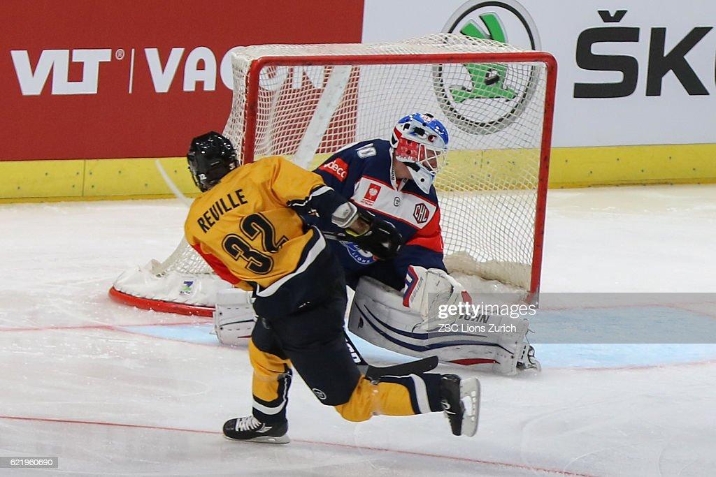 CHE: ZSC Lions Zurich v HC Lugano - Champions Hockey League