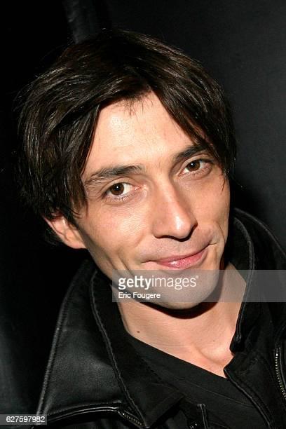 Sebastien Rock attends Bruno Salamone's latest stage show