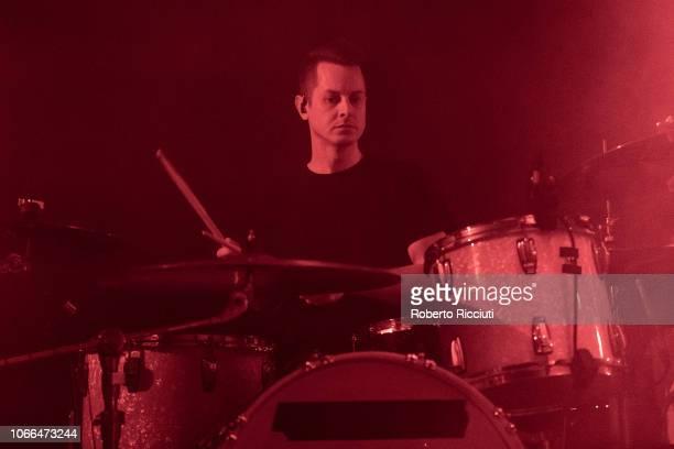 Sebastien Schultz of The Twilight Sad performs on stage at The Liquid Room on November 29 2018 in Edinburgh Scotland