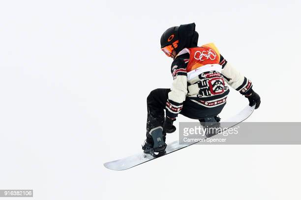 Sebastien Toutant of Canada competes during the Men's Slopestyle qualification on day one of the PyeongChang 2018 Winter Olympic Games at Phoenix...