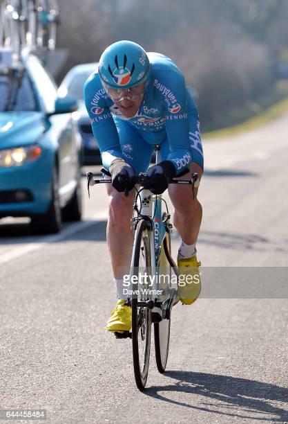 Sebastien TURGOT - Bbox Bouygues Telecom - - Paris-Nice, Prologue, Montfort-l'Amaury, Yvelines. Photo: Dave Winter / Icon Sport.
