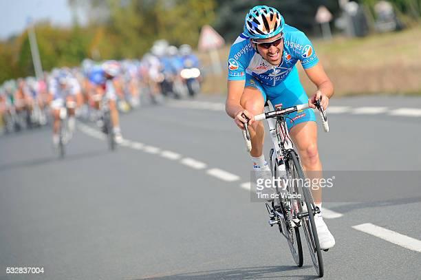 Sebastien Turgot during the 2008 Paris - Tours cycling race.