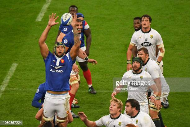 Sebastien Vahaamahina of France during the Test match between France and South Africa on November 10 2018 in Paris France