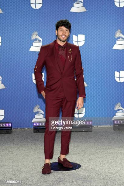 Sebastián Yatra attends The 21st Annual Latin GRAMMY Awards at American Airlines Arena on November 19, 2020 in Miami, Florida.