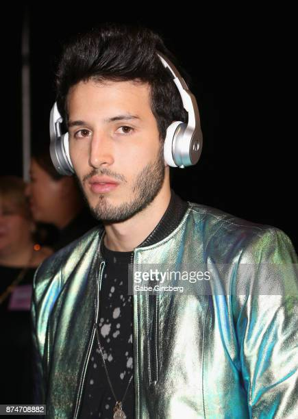 Sebastián Yatra attends the gift lounge during the 18th annual Latin Grammy Awards at MGM Grand Garden Arena on November 15 2017 in Las Vegas Nevada